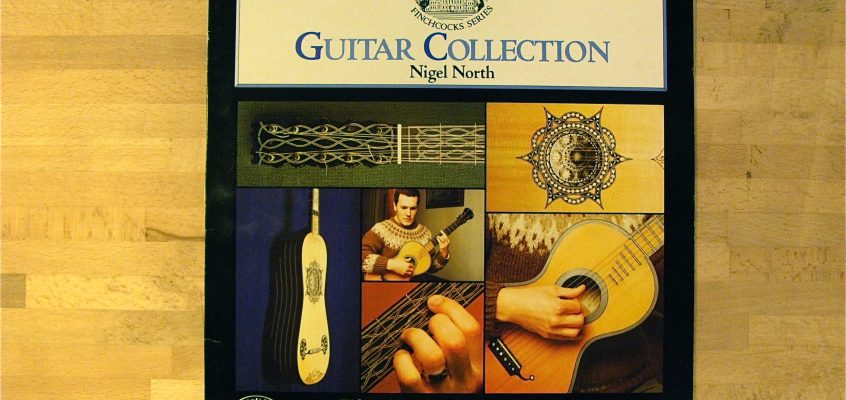 Gitarrskiva – Nigel North: Guitar Collection