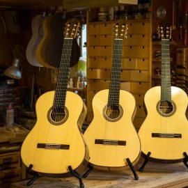 Instrument till salu på Uppsala Gitarrfestival