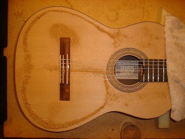 Vetenskapligt gitarrbygge