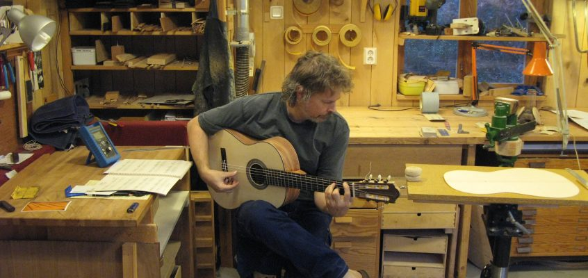Gitarrens fyra grundpelare, del 4. Klangfärger