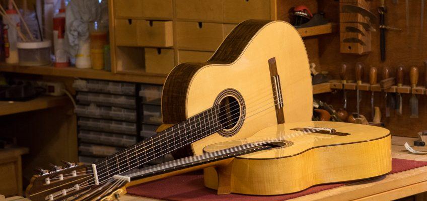 Gitarrer till salu på Uppsala Gitarrfestival